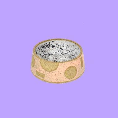 pink+dog+bowl