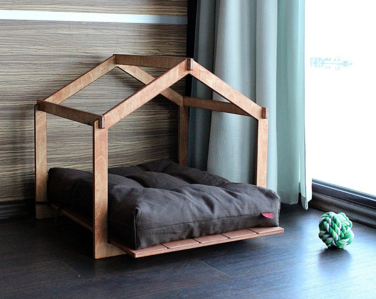 Modern Indoor Dog Houses The Little Aussies