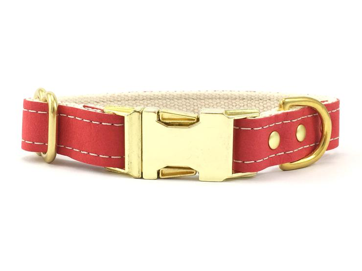 Red_vegan_leather_dog_collar_brass_buckle_740x